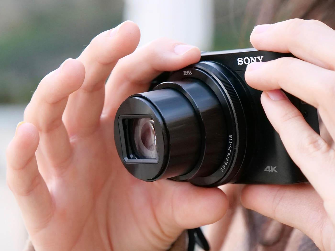 Sony HX99 optique