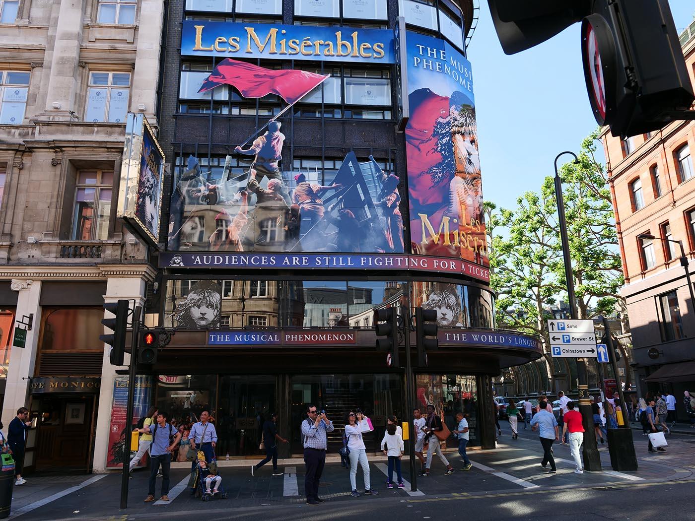 Les Misérables Londres