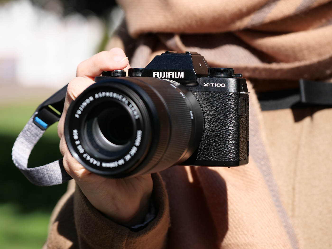 Fujifilm X T100 kit objectif XC 50 230