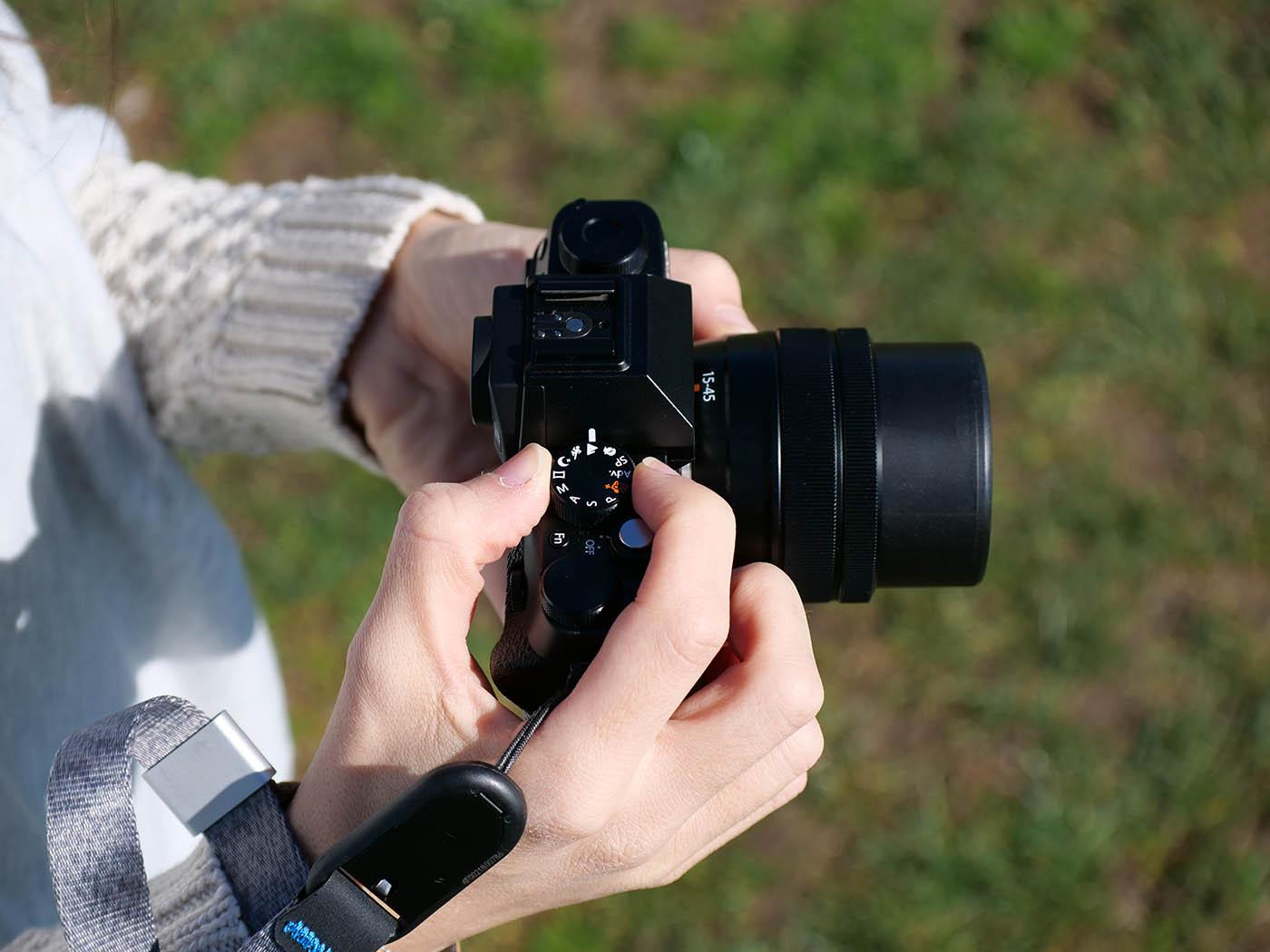 Fujifilm X T100 prise en main