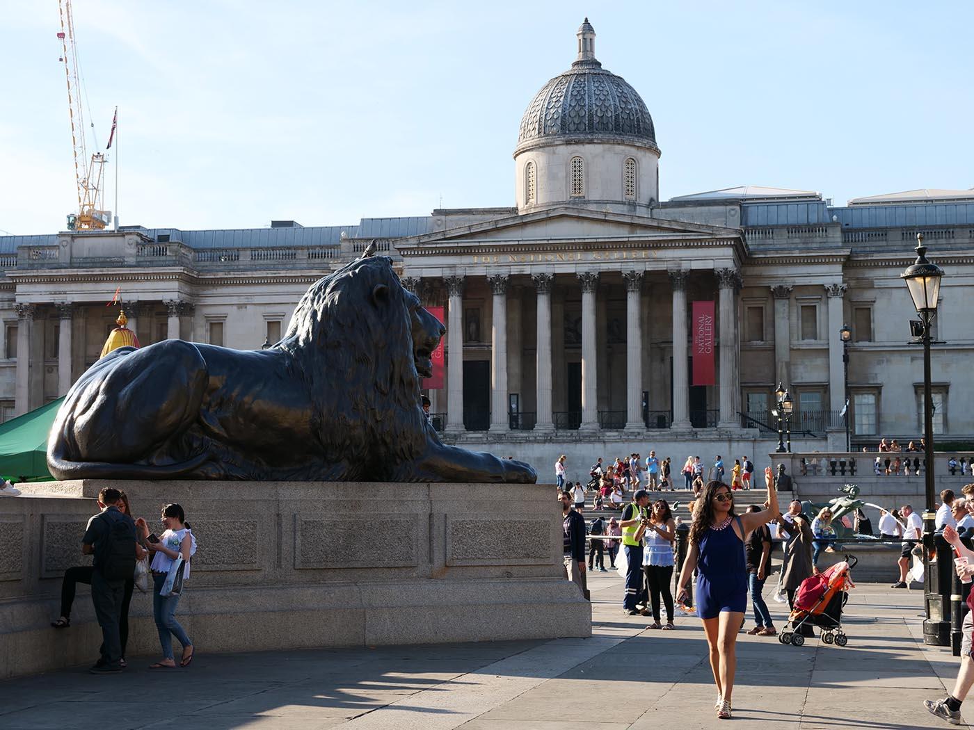 Londres Trafalgar Square National Gallery