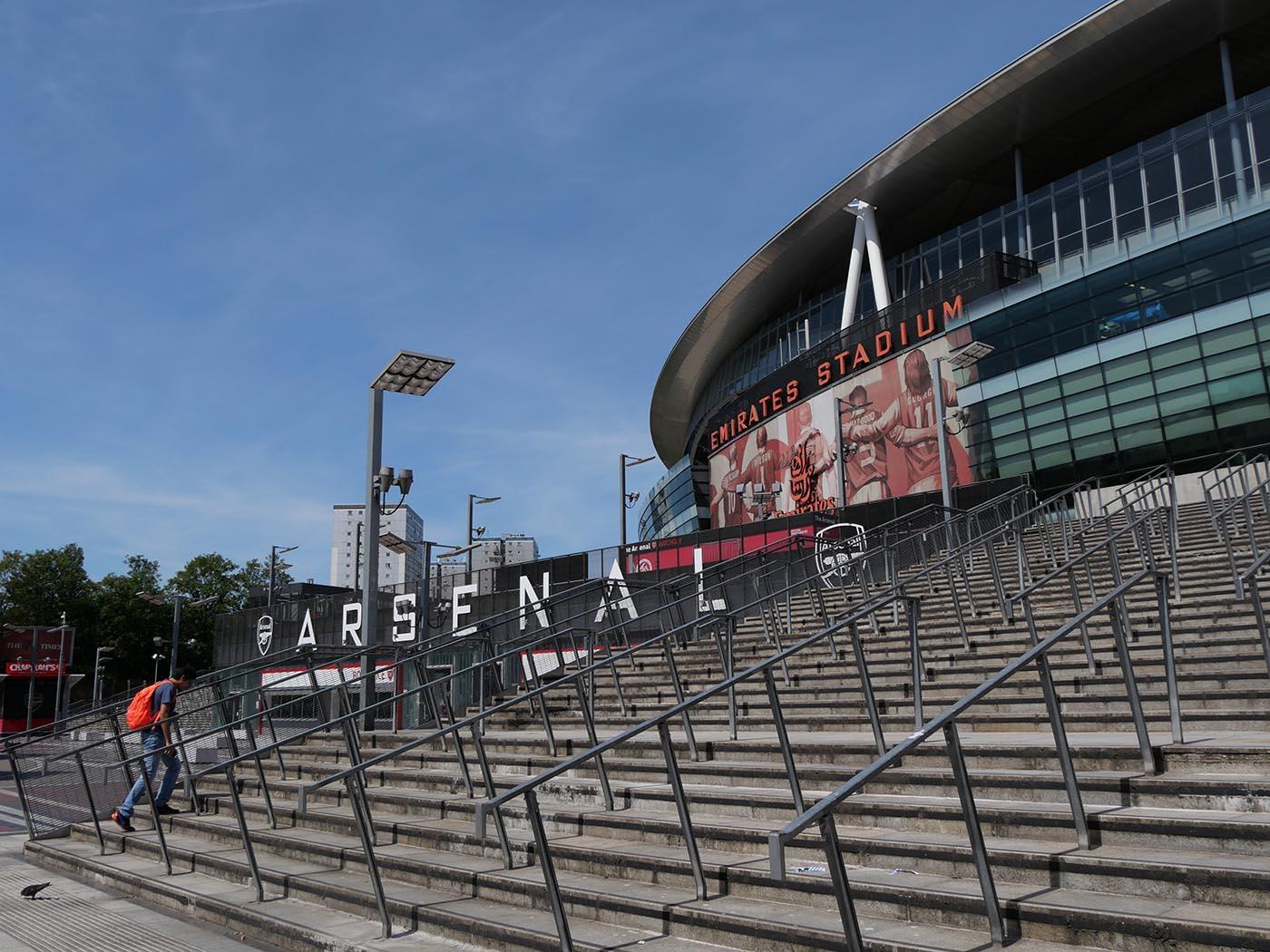 stade foot Londres