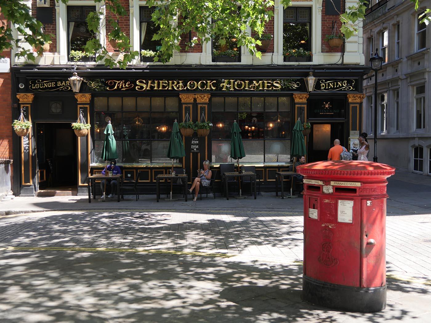Pub Typique à Londres