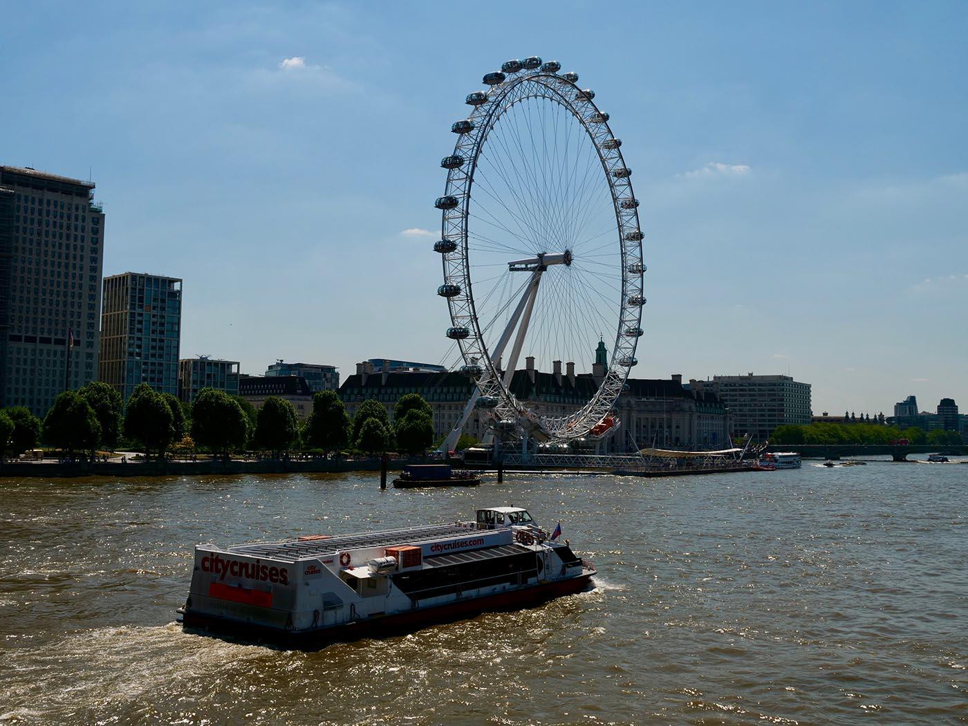 croisière Londres Tamise