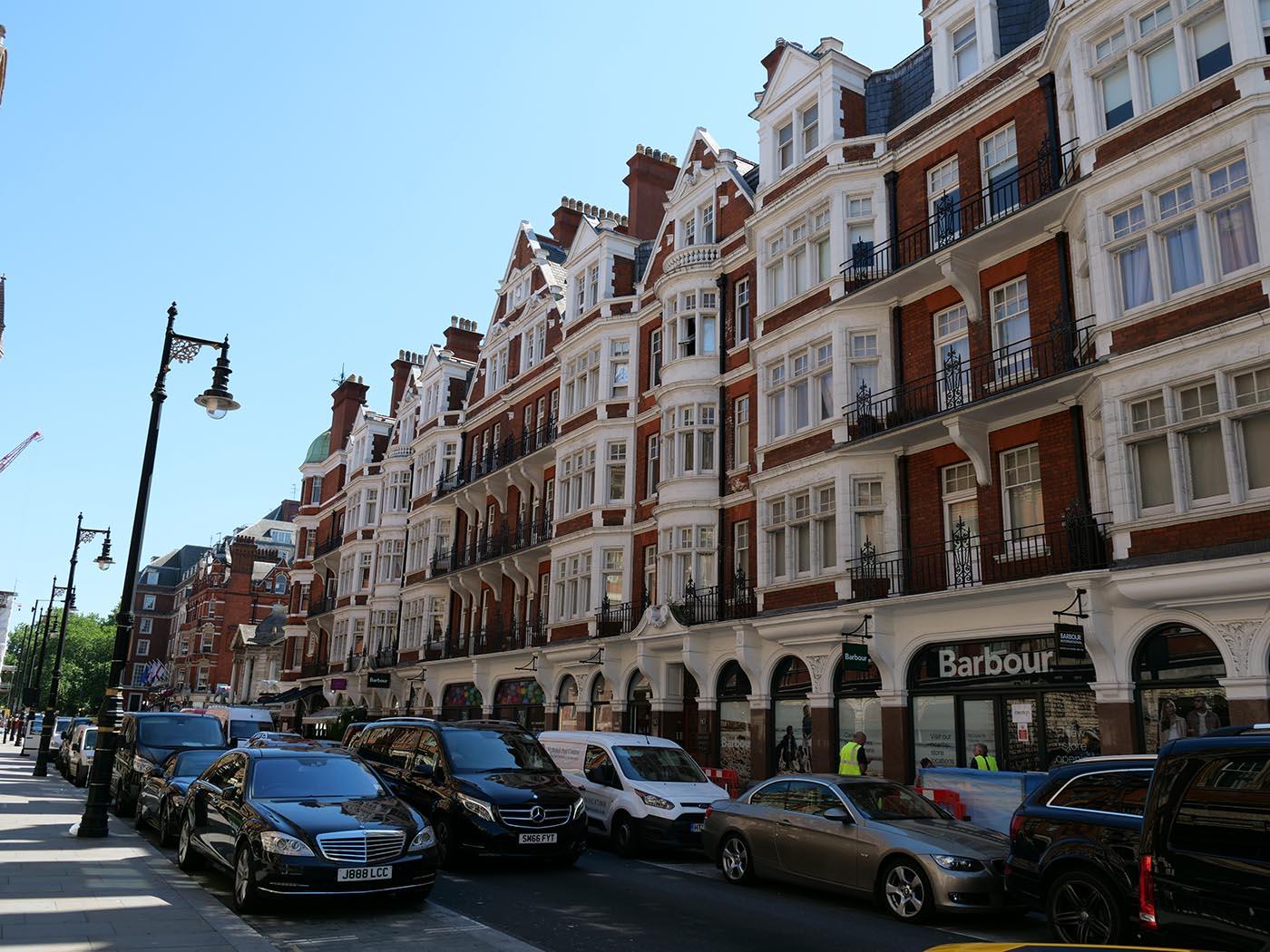 faire du shopping à Londres