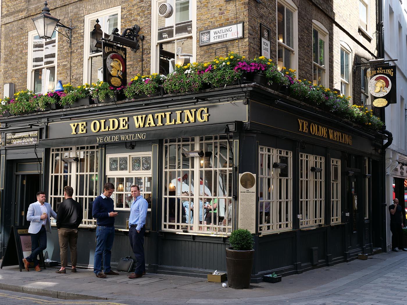 Pub dans la City
