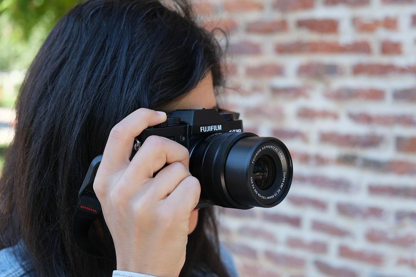 Fuji XT30 + objectif XC 15 45