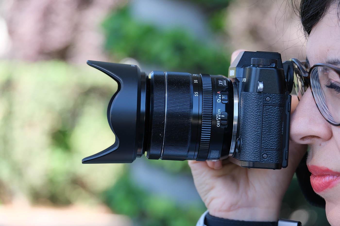 Fuji XT30 + objectif XF 18 55