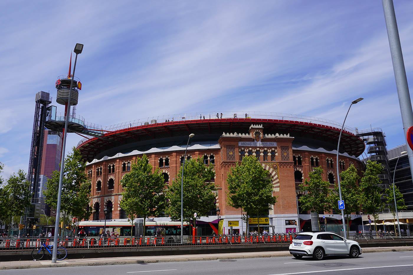 arene Barcelone avec Sony a6400