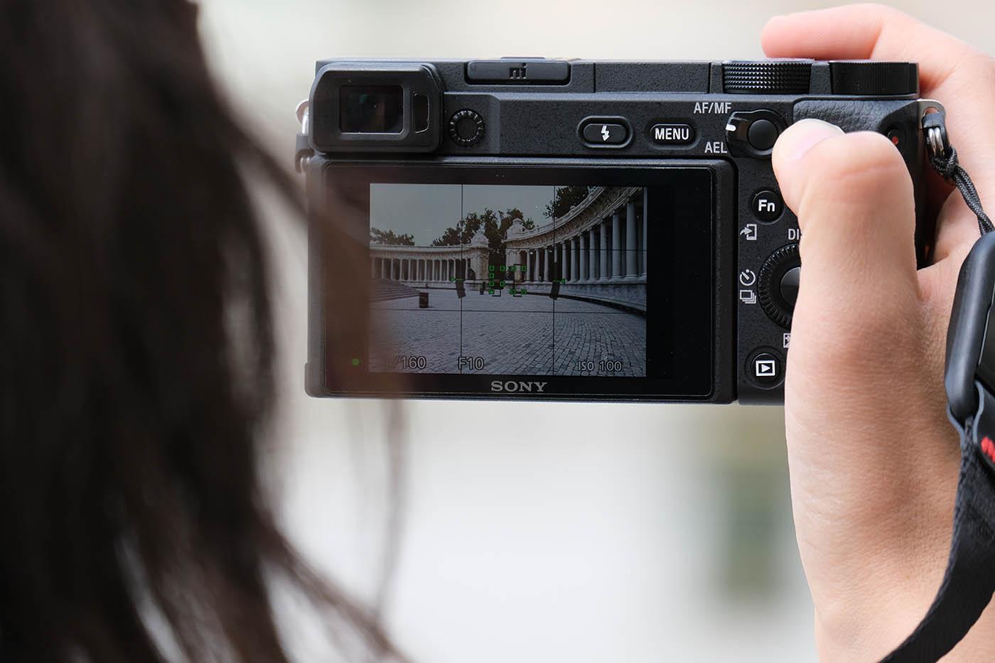 qualité viseur Sony alpha 6400