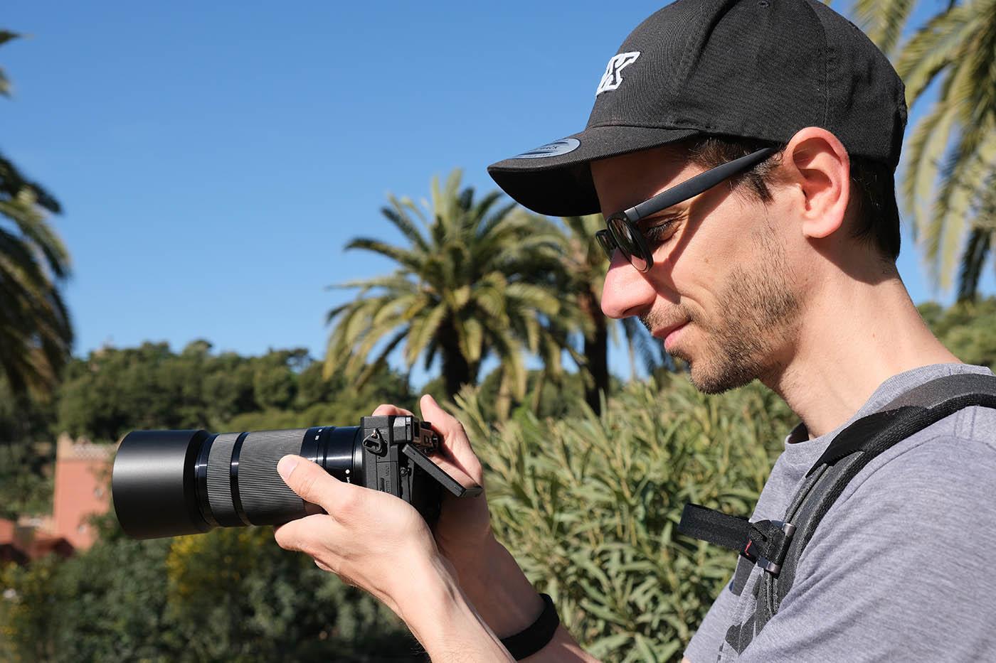test vacances Espagne avec Sony alpha 6400