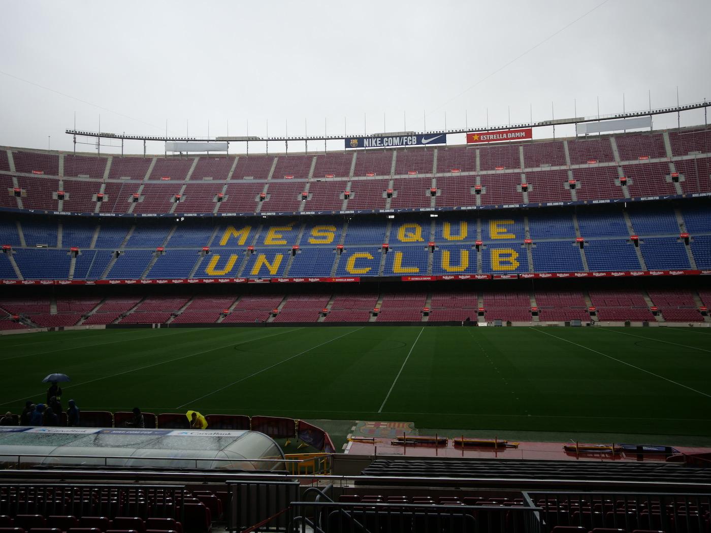 assister à un match du Barça