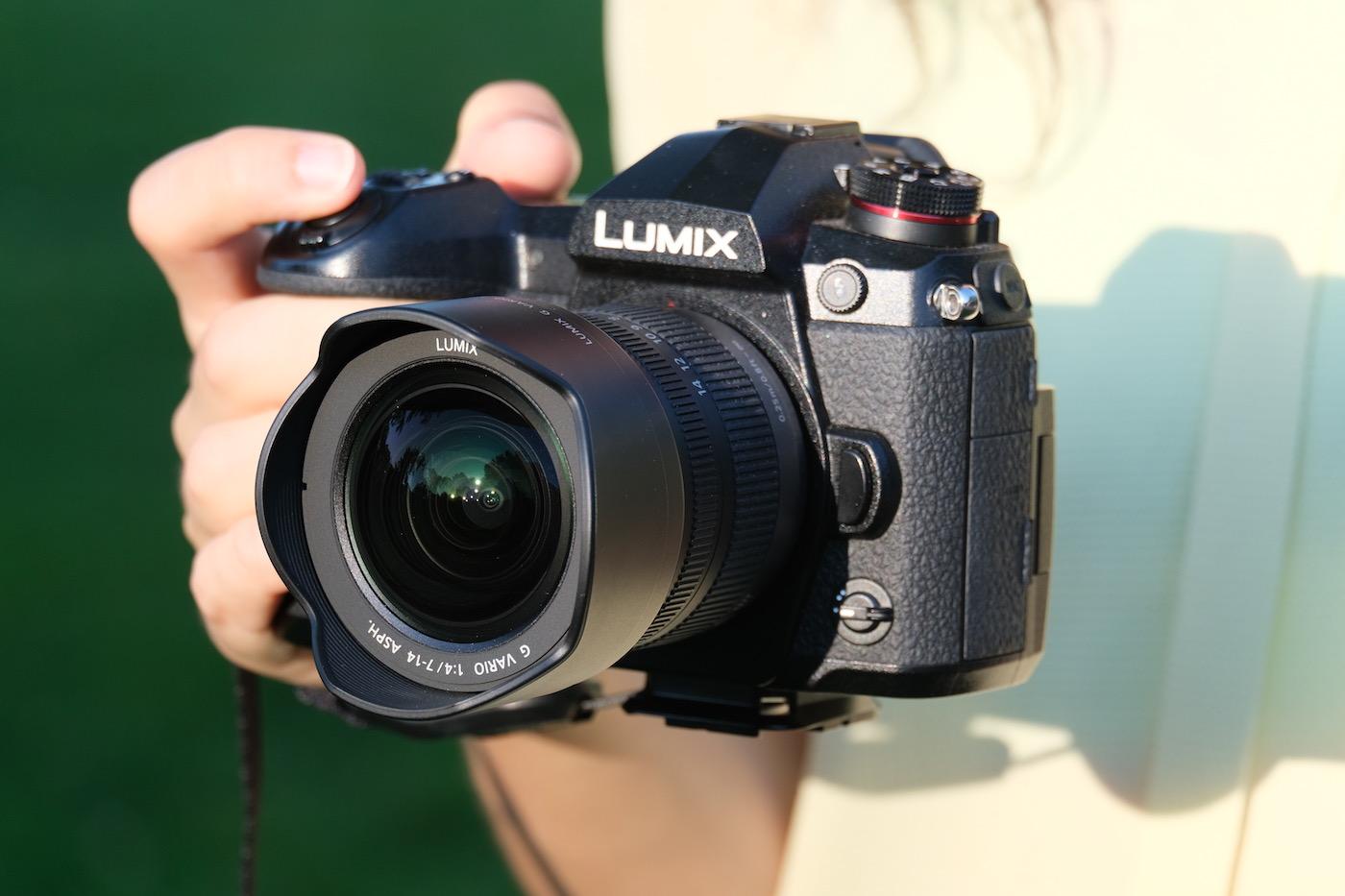 Panasonic 7-14mm f4.0 + LUmix G9