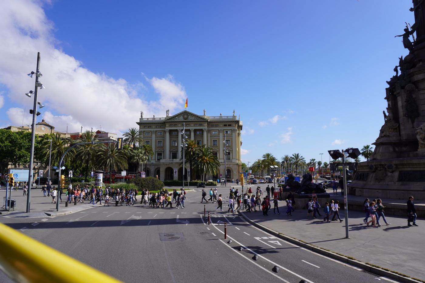 Bus Touristique Barcelone routes