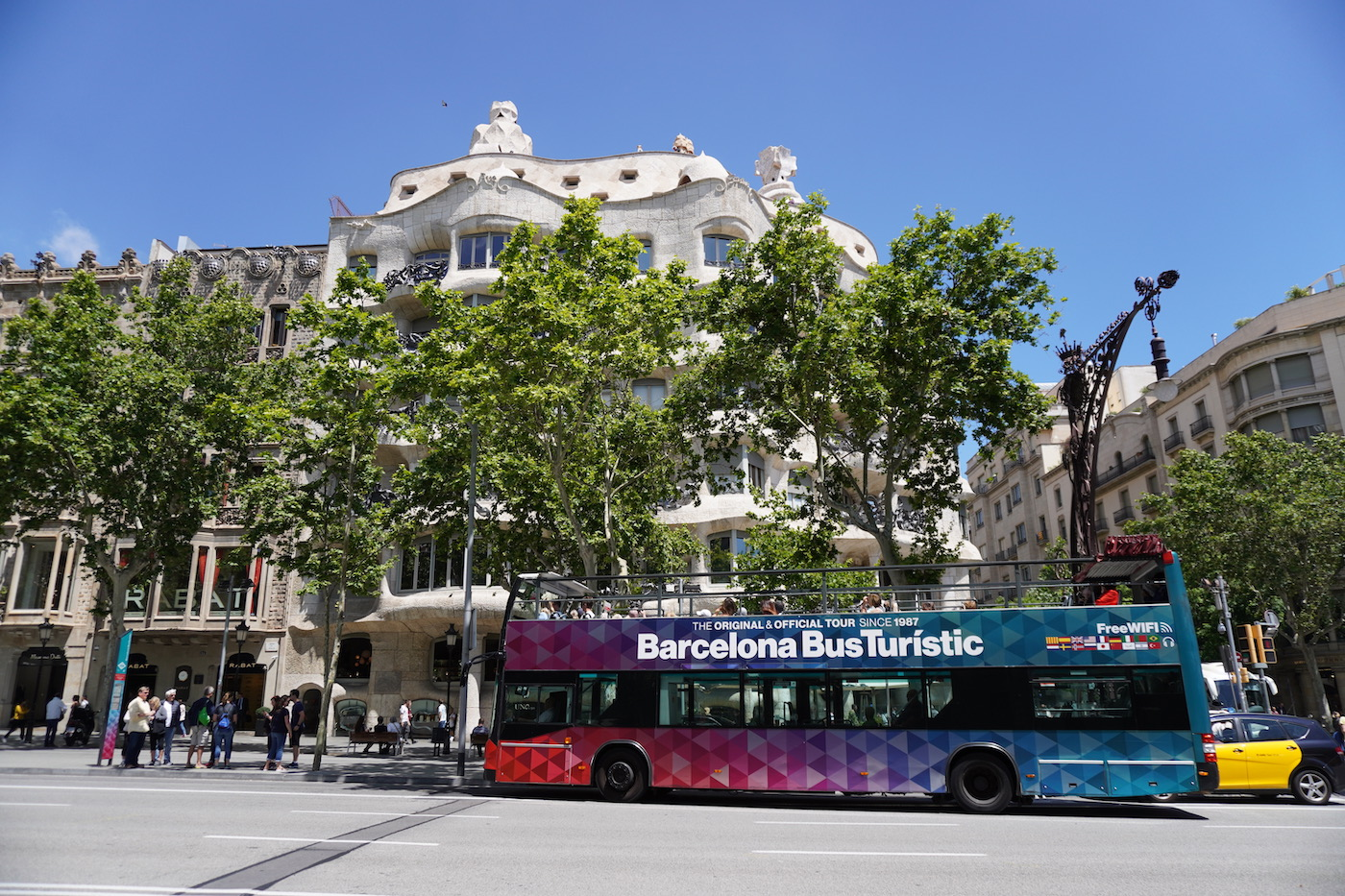 carte transport Barcelone