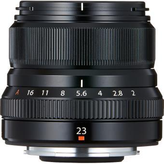 Optique Fujifilm pour photo de rue
