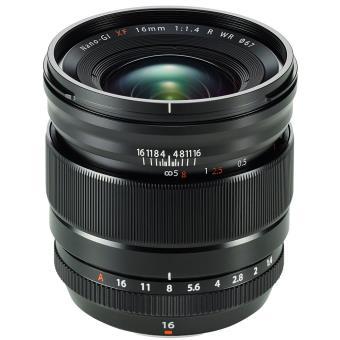 Objectif grand angle Fujifilm lumineux