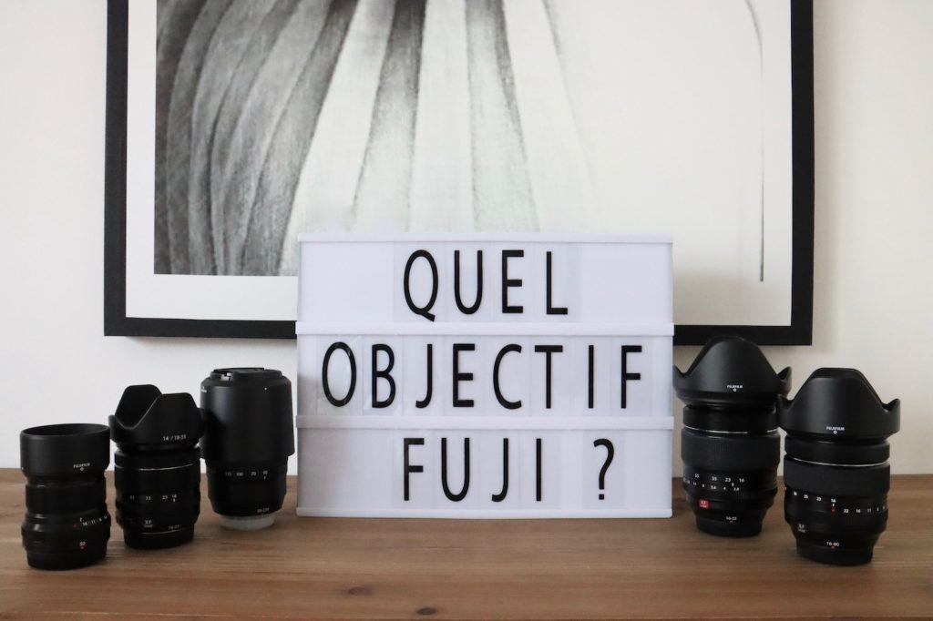 Objectif Fujifilm guide d'achat