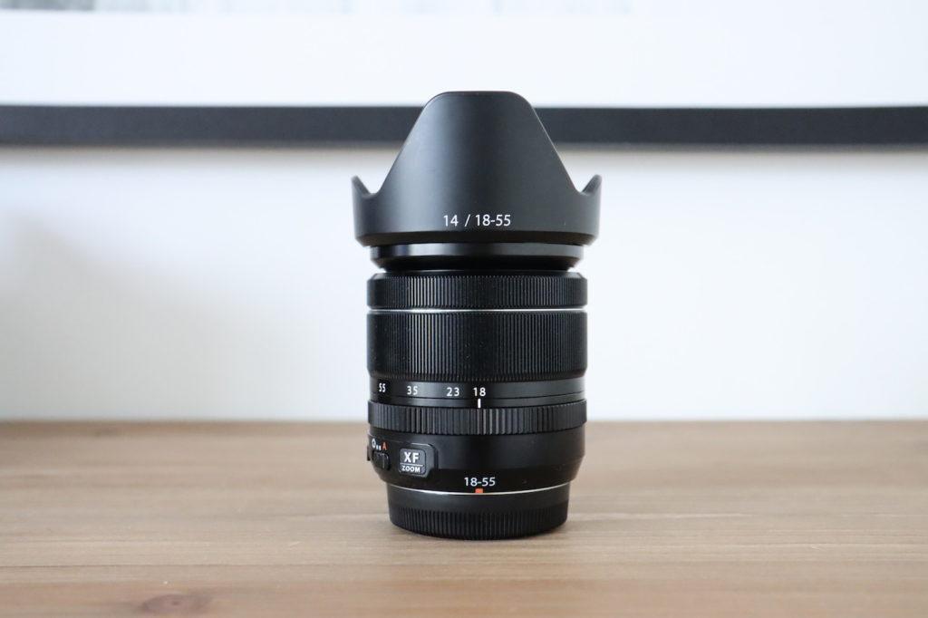 Optique Fuji zoom standard
