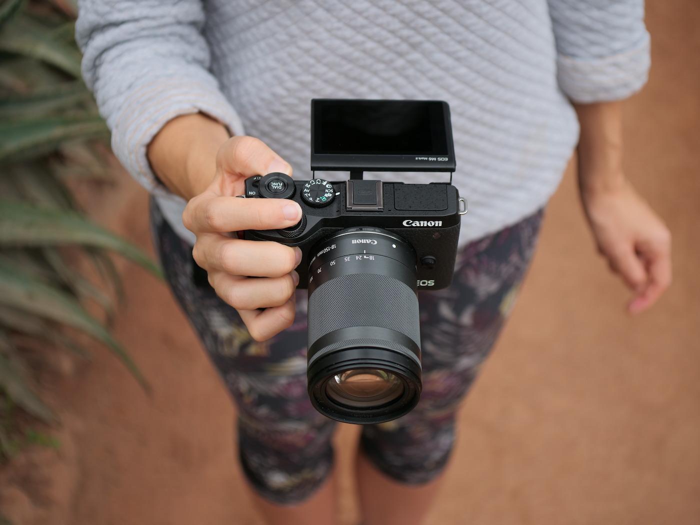 Canon EOS M6 Mark II avis test
