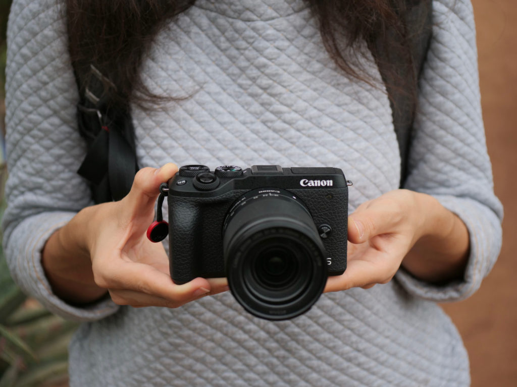Canon EOS M6 Mark II prise en main