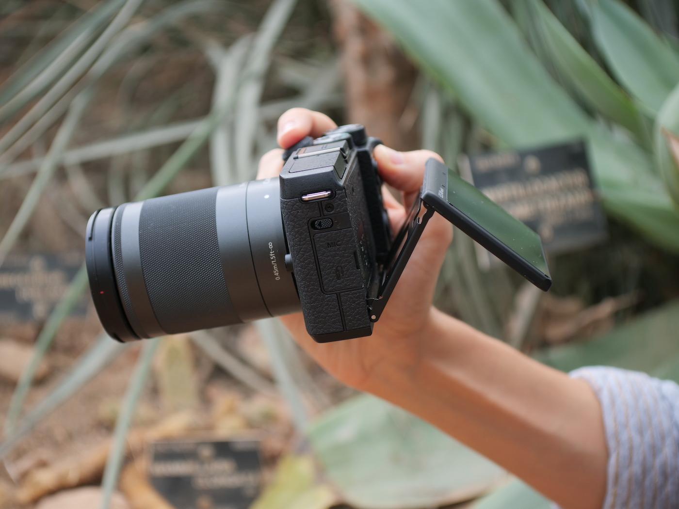 Ecran Canon EOS M6 Mark II