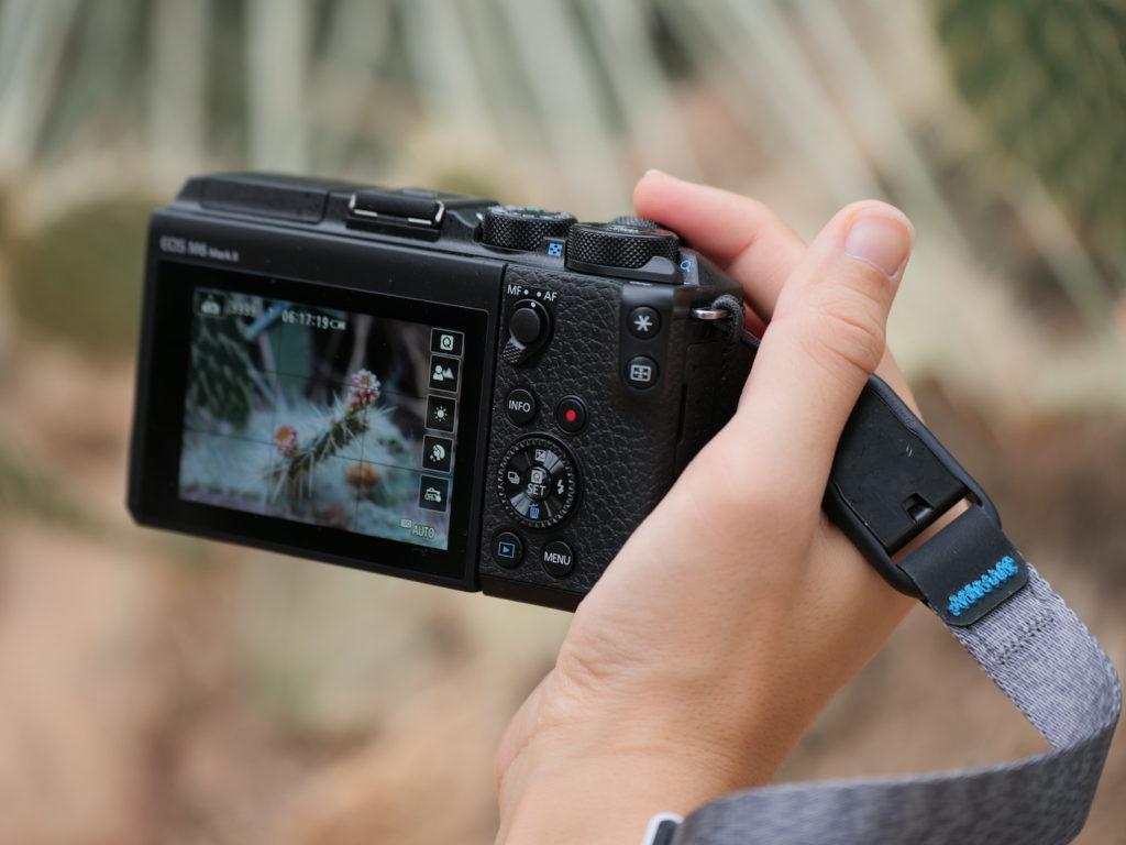 écran Canon EOS M6 II test