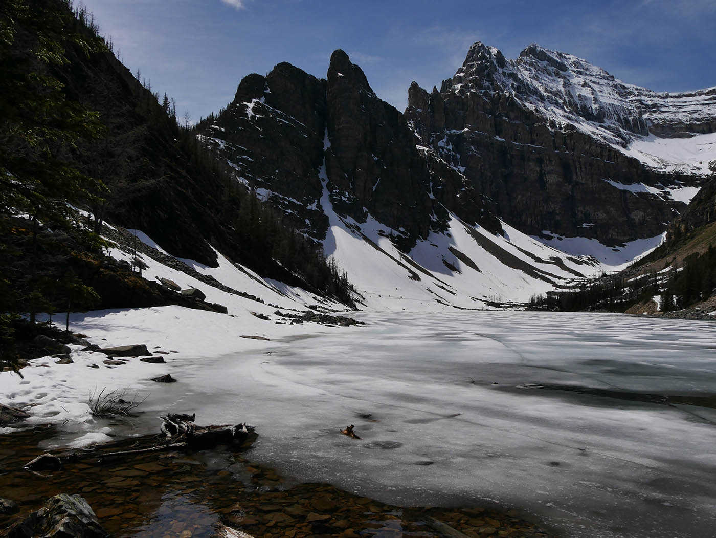 Parc National de Banff en hiver