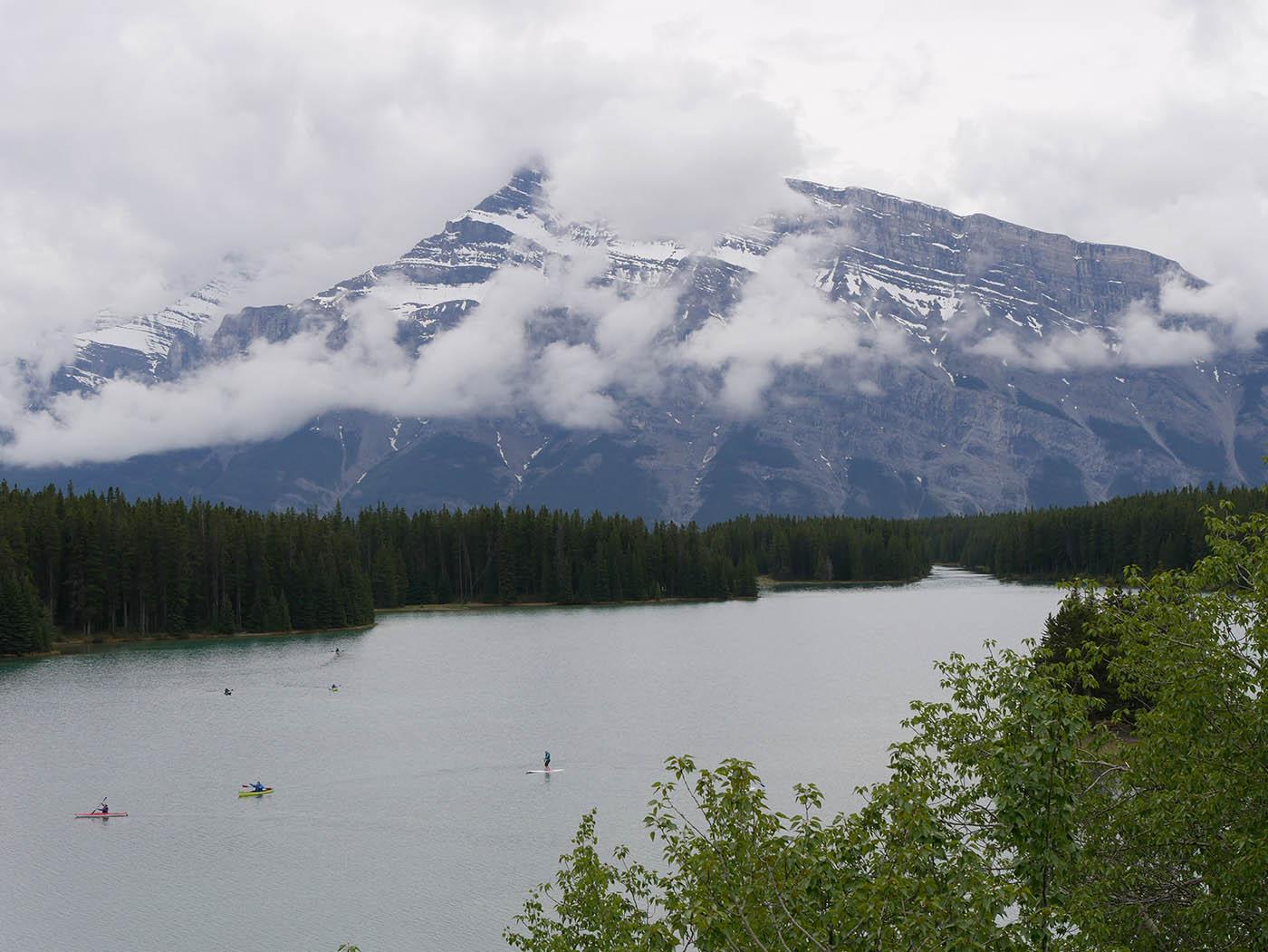 que faire à Banff en été